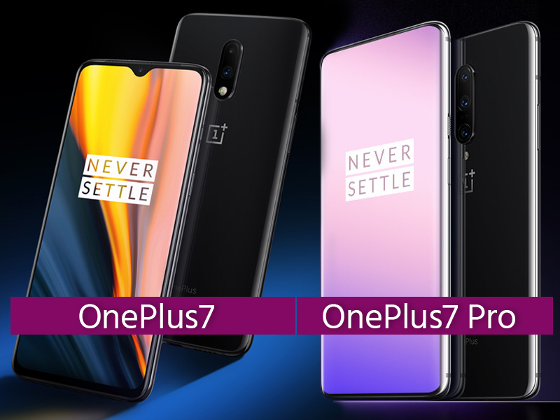 Photos: Oneplus 7 And Oneplus 7 Pro Features,Specifications