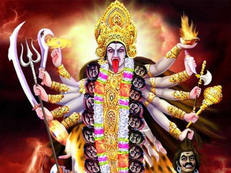 Image result for kaali mata