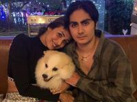 अरहान खान के विदेश जाने पर इमोसनल हुयीं मलाइका अरोड़ा, बेटे संग शेयर कि फोटो