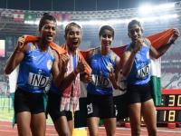 एशियन गेम्स में गोल्ड जीतने वाली गुजरात की पहली महिला एथलीट सरिता का कुछ ऐसे हुआ स्वागत