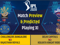 RCB vs RR, DC vs KKR,Playing 11 & Dream 11 Predictions IPL 2020: today match prediction & playing 11