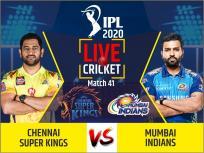 IPL 2020, CSK vs MI, Live Cricket Score: एक हार के साथ चेन्नई सुपर किंग्स की उम्मीदें होंगी खत्म