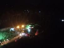 केरल में एयरपोर्ट पर एयर इंडिया का विमान क्रैश, दो हिस्सों में बंट गया विमान, देखें वीडियो