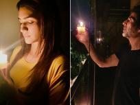 कोरोना से जंग : बॉलीवुड सितारों ने इस अंदाज़ में मनाई 'दिवाली'