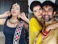 PHOTOS: नवरात्री पर चारु असोपा ने पति राजीव सेन संग की कलश स्थापना, देखें तस्वीरें