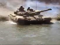 लद्दाख सीमा पर भारतीय सेना ने किया शक्ति प्रदर्शन, चीन को दिखाई ताकत