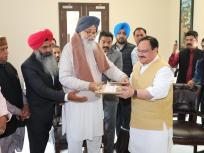 पंजाब के बादल गांव पहुंचेभाजपा अध्यक्ष जे पी नड्डा, CAA पर बंद कमरे मेंप्रकाश सिंह बादल से मिले, जानिए क्या है मामला