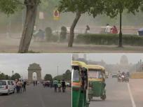दिल्ली में मौसम ने ली करवट,छाये बादल, बारिश होने की संभावना