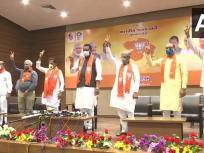 गुजरात: राज्यसभा चुनाव से पहले कांग्रेस से इस्तीफा देने वाले 5 विधायक BJP में शामिल