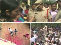 हैदराबाद: जहां दिशा से हुई थी हैवानियत, वहीं पर आरोपियों का शूट आउट, पुलिस के जय-जयकार में वायरल हुए कई वीडियो
