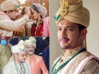 Aditya Narayan Wedding:आदित्य नारायण आणि श्वेता अग्रवालच्या लग्नातील INSIDE फोटो पाहा.. - Marathi News | Aditya Narayan and shweta agrawal Wedding photos see pics | Latest television Photos at Lokmat.com