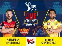 IPL 2020, SRH vs CSK, Live Cricket Score: सम्मान बचाने उतरेगी चेन्नई सुपर किंग्स