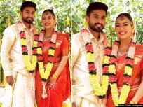 तिहरा शतक लगाने वाले भारतीय क्रिकेटर करुण नायर ने गर्लफ्रेंड से की शादी, देखें PICS