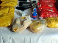 कश्मीर में13.5किलो हेरोइन बरामद,कीमत 65करोड़,दो पिस्टल और चार ग्रेनेड जब्त,नशे की कमाई से आतंकवाद को जिंदारखने की ना'पाक कोशिश