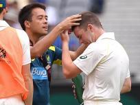 Video: इस ऑस्ट्रेलियाई बल्लेबाज के हेलमेट पर लगी बुमराह की बाउंसर, देखें क्या हुआ हाल