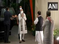 बिहार चुनावः पीएम मोदी, अमित शाह बीजेपी मुख्यालय पहुंचे, उम्मीदवारों की सूची पर चर्चा होने की उम्मीद