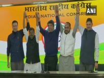 बाबूलाल मरांडी के बीजेपी में शामिल होने के बाद JVM से निष्कासित दो विधायकों ने थामा कांग्रेस का दामन