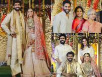 राणा दग्गुबाती और मिहिका बजाज की शादी में शामिल हुए ये सितारे, देखें तस्वीरें