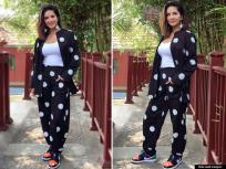 PHOTOS: सनी लिओनीने ब्लॅक अँड व्हाईट ड्रेसमध्ये केलं लेटेस्ट फोटोशूट, चाहते झाले क्रेझी ! - Marathi News | Sunny leone looks so pretty in black and white dress images viral see pics | Latest bollywood Photos at Lokmat.com