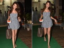 तारा सुतारिया 'ट्यूब टॉप मिनी ड्रेस' में आईं नजर, तस्वीरों में देखें हॉट लुक