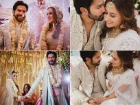 Varun Dhawan Wedding Photos: वरुण धवन आणि नताशा दलालच्या लग्नाचा सुंदर वेडिंग अल्बम, See Pics - Marathi News | Varun dhawan natasha dalal wedding photos goes viral on internet see pics | Latest bollywood Photos at Lokmat.com