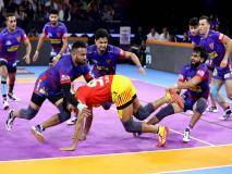 PKL 2019, Dabang Delhi vs Gujarat Fortune Giants: नवीन ने लगाया लगातार 13वां सुपर-10, दिल्ली ने जीता मैच