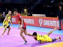 PKL 2019, Telugu Titans vs Dabang Delhi: नवीन कुमार का दमदार प्रदर्शन, दिल्ली ने जीता मैच