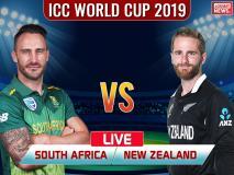 ICC World Cup 2019, NZ vs SA: न्यूजीलैंड ने साउथ अफ्रीका को हराया, दर्ज की सीजन की चौथी जीत