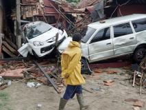 इंडोनेशिया सुनामी: लाइव परफॉर्मेंस के दौरान झूम रहे थे लोग, अचानक बहा ले गईं लहरें, वीडियो हुआ वायरल