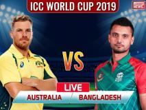 World Cup 2019, Aus vs Ban: डेविड वॉर्नर ने खेली 166 रनों की पारी, ऑस्ट्रेलिया ने बांग्लादेश को 48 रनों से हराया
