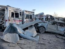 अफगानिस्तान के दक्षिणी शहर मेंआत्मघाती ट्रक बम विस्फोट, 20 की मौत, 90 से अधिक घायल