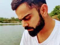 विराट कोहली की टी-शर्ट में दिखा कुछ ऐसा, तस्वीर हुई VIRAL