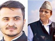 हिरासत में सपा सांसद आजम खां के विधायक पुत्र अब्दुल्ला, आरोप है कि मदरसे से करीब 9000 किताबें चोरी की