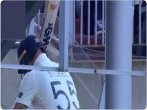 AUS vs ENG: आउट होने पर बेन स्टोक्स ने बल्ले पर निकाली भड़ास, वायरल हुआ VIDEO