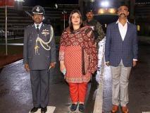चुनाव आयोग ने बीजेपी विधायक ओपी शर्मा की ओर से शेयर अभिनंदन वर्तमान की तस्वीर हटाने को कहा
