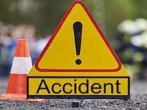 दिल्ली से गणेश विसर्जन को हरिद्वार जा रही बस मुजफ्फरनगर में पलटी, 50 घायल