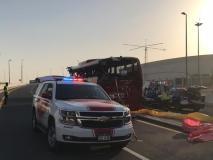 दुबई: बस हादसे में 17 लोगों की मौत, मरने वालों में 12 भारतीय शामिल