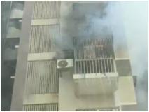 गुजरातः अहमदाबाद की बहुमंजिला इमारत में भीषण आग, मौके पर फायर ब्रिगेड की कई गाड़ियां तैनात