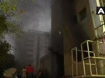 दिल्ली: AIIMS के ट्रॉमा सेंटर में लगी आग, दमकल की 12 गाड़ियां भेजी गईं