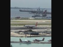 एयर इंडिया का विमान गलत रनवे पर उतरा, 136 यात्री की मुश्किल में थी जान