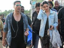 अक्षय कुमार और किआरा आडवाणी ने शुरू की अपकमिंग फिल्म 'लक्ष्मी बम' की शूटिंग, देखें पिक्स