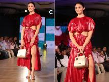 Photos: रेड हॉट अंदाज में आलिया भट्ट ने इस इवेंट के लिए किया रैंप वॉक