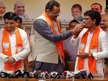 कांग्रेस को बड़ा झटका, अल्पेश ठाकोर और धवल सिंह झाला ने थामा BJP का दामन