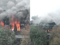 दिल्ली: नारायणा में ' आर्चीज़' की फैक्ट्री में लगी भीषण आग, दमकल की 29 गाड़ियां मौजूद, रेस्क्यू ऑपेरशन जारी
