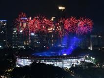 Asian Games 2018 Opening Ceremony: जकार्ता में रंगारंग आगाज, नीरज चोपड़ा बने भारत के ध्वजवाहक
