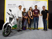 Ather 450 इलेक्ट्रिक स्कूटर की डिलिवरी बंगलुरु में शुरू हुई, जानें खासियत