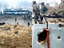 तस्वीरों में देखें कितना भयावह है पुलवामा आतंकी हमला, अब तक 44 जवान हो चुके हैं शहीद, बढ़ सकती है मरने वालों की संख्या