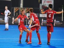 Hockey World Cup: दो बार के चैम्पियन जर्मनी को हराकर बेल्जियम पहली बार सेमीफाइनल में