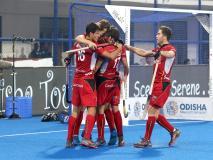 हॉकी वर्ल्ड कप: पाकिस्तान को 5-0 से हरा बेल्जियम क्वॉर्टर फाइनल में, नीदरलैंड्स की अंतिम-8 में भारत से होगी भिड़ंत