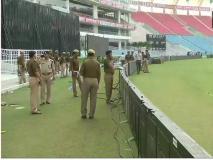 योगी आदित्यनाथ सरकार ने बदला टी20 मैच से पहले स्टेडियम का नाम